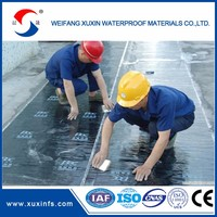 Construction self adhesive bitumen weatherproofing strips