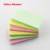 Large quantities of stock Shape Scratch memo color  pad personalized different size shaped cheap sticky notes pad
