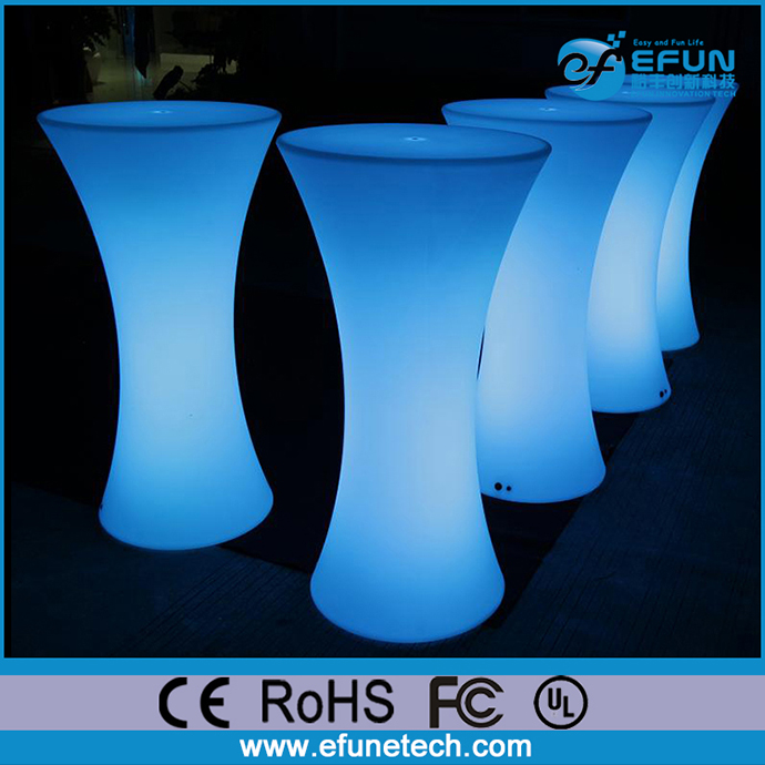 wholesale unique glow bar led furniture, light up led bar height table