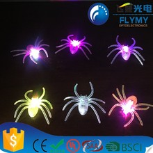 Colorful Mini lamp Fashion LED Spider Mini Toy for Kids High Quality Mini Handheld Battery Operated Pocket LED Light