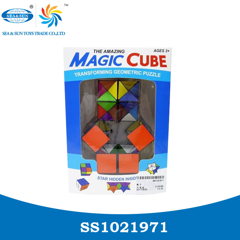 Puzzle toy folding magic cube for kids