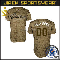 Custom Camo Baseball Jersey Softball Shirt Sublimated baseball jersey Blank Baseball Jerseys Wholesale