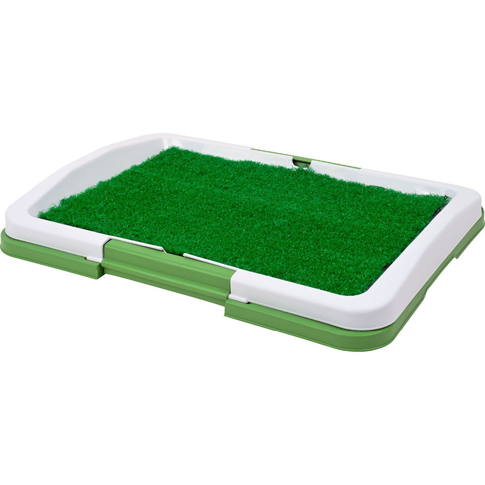 <strong>Pet</strong> Dog Toilet Urinary Trainer Grass Mat Potty Pad Indoor House Litter Tray Restroom For <strong>Pets</strong>