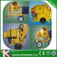Low price good quality used portable concrete mixer for sale