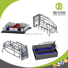Pig Farming Use Galvanized Sow Farrowing Crate for Sale