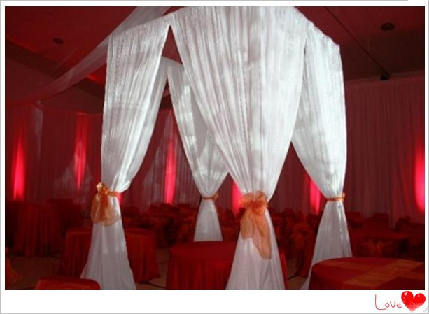portable pipe and drapes decoration backdrop curtain draperies