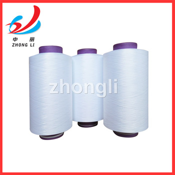 100% polyester yarn DTY optical white 150/48 300/96 HIM NIM SIM DTY plant