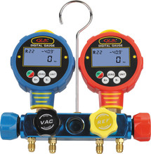 Digital Manifold gauge 4-Port with Micron Gauge WK6884