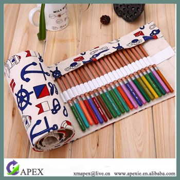 Lovely Colored Pencil Bags Organizer For Artist, Pencil Pouch