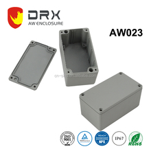 IP67 Standard Hot Sale Outdoor Electrical Waterproof Aluminium Meter Box L115*W65*H55.5mm