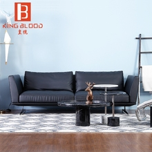 American style black italy genuine Nappa leather sofa set designs living room sofa <strong>furniture</strong>