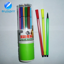 2015 high quality non-toxic felt tip water color marker ,water color pen