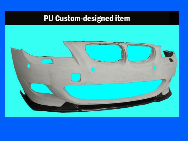 PU FRONT BUMPER LIP FOR E60 CUSTOM-MADE ITEM