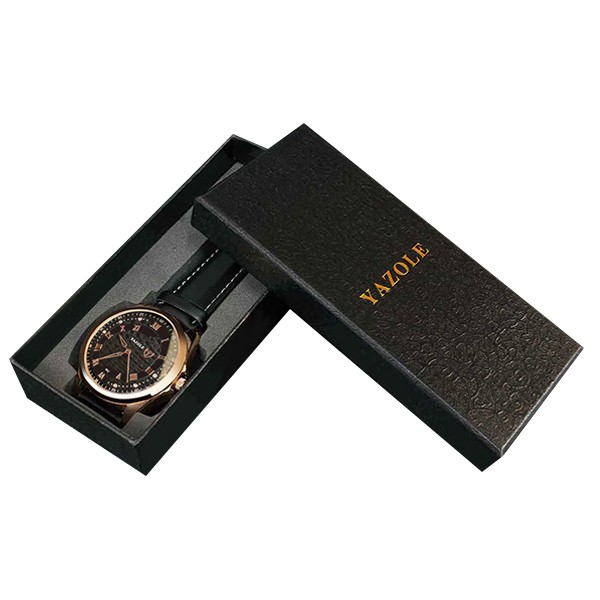 MY-<strong>A02</strong> China factory Hot selling stylish high quality rectangle watch box luxury yazole watch packaging box