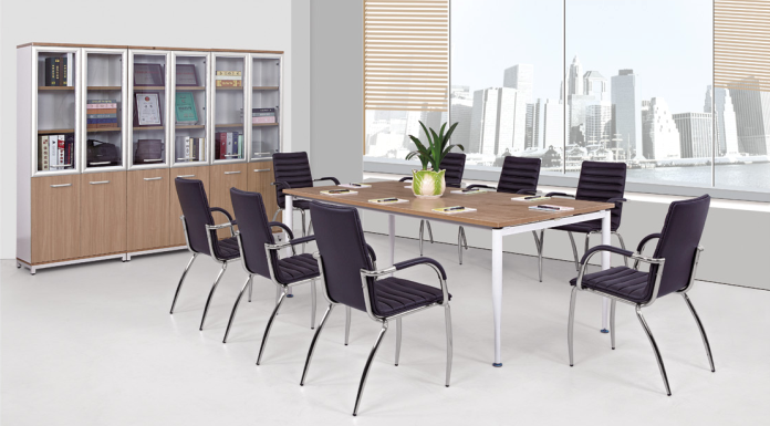 International Design USA chair/stackable meeting chair in office AH-40-1