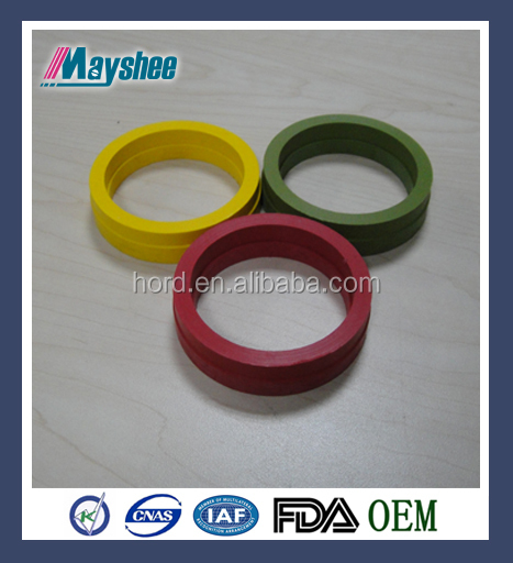 Colored and modified PTFE gaskets