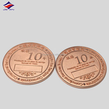 3D Design hot air balloon and mountains antique copper medallion,metal custom Turkey memory badge coins for souvenir gifts