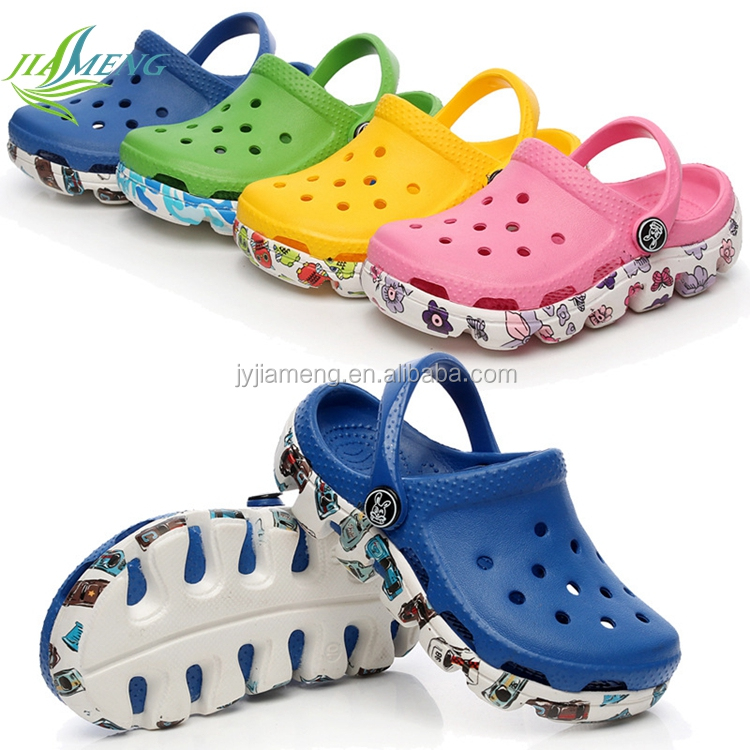 hot selling child garden shoes plastic shoe eva shoes beach slippers