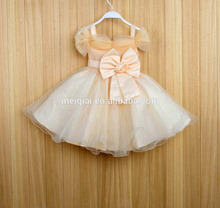 Hot sale kids clothes baby new arrival girl party wear western new age wedding dress L8120