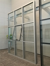 180mm section exposed frame unitized curtain wall with 10 years warranty