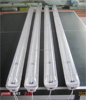 Waterproof Ip65 Tri Proof Led light 1200mm 40w 50w Replace T8 Fluorescent Led Tube Light Fixture 4ft