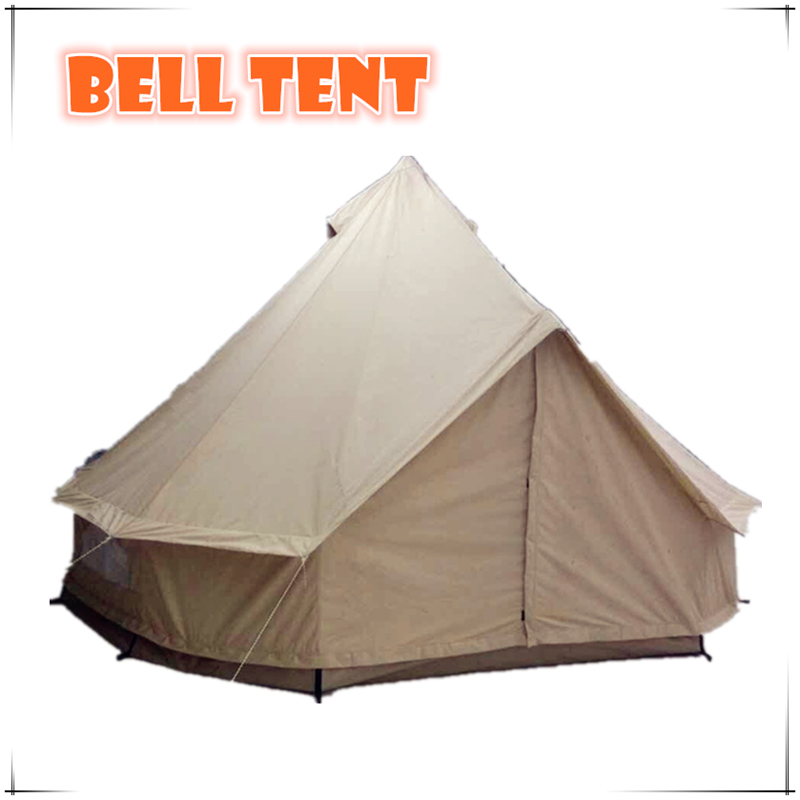 Canvas Bell Tent 5M Best Waterproof Family Tents