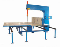 manual vertical foam machine cutter with beeline track