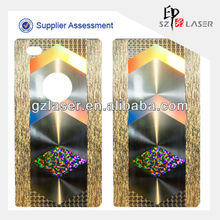 Hologram pet self adhesive protective film for mobile phone