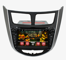 Quad core pure android 4.4 Hyundai Vena/Accent/Solaris car stereo with gps 3G wifi android mirror link! OBD and TMPS optional