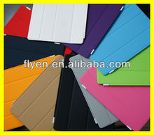 Favorites Compare colorful smart cover single side with multi-function holder cover learher case for i For iPad 2/3/4,