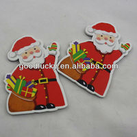 Father Christmas Promotional Gift paper fridge magnet--Goodadv Factory Directly Selling !!!