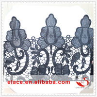 Most people interested lace trim black yards jacquard curtain