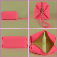 lady handle bag , customized color cosmetics bags woman, clear makeup bag