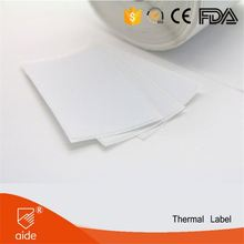 High Quality Removable Washable Adhesive Garment Thermal Sticker Labels Blank