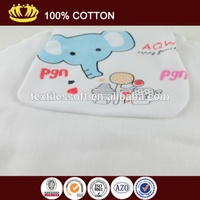 100%cotton colorful cartoon hooded baby towel