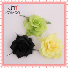 Wholesale High Quality Artificial Flower Fabric Flowers Decorative Fabric Flowers Making