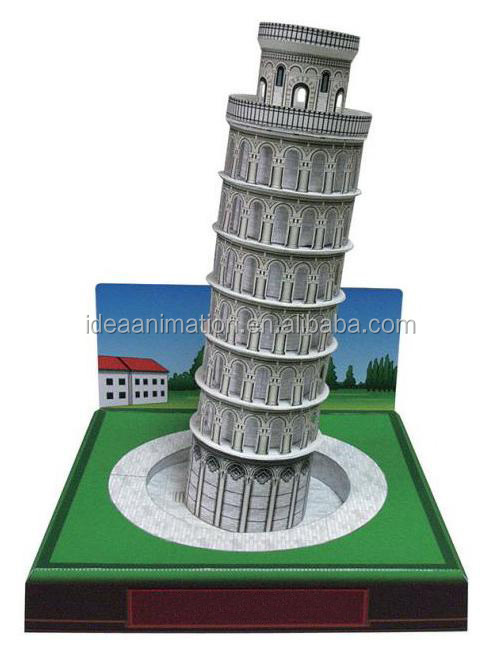 2016 OEM wonderful resin model for collectible famous building art crafts