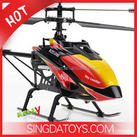 New Arrival 70CM Large Single Blade 2.4G 4CH RC Helicopter WL V913