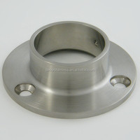 Stainless steel handrail post base plate