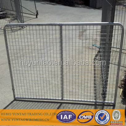 invisible pool fencing/iron mesh fence gate/metal livestock farm fence panel
