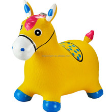 OEM PVC Inflatable plastic animal toy donkey