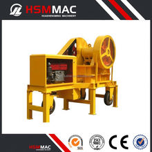 CE 1-3T/H cobble diesel engine mini stone crusher