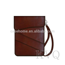 Customized Latest design tablet leather pouch for iPad 5/air 2 tablet sleeve bags