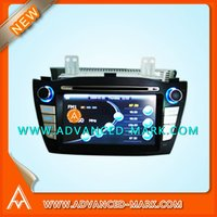 "Replace Car Special DVD GPS Player for Hyundai ix35 7"" TFT Touch Screen / Built-in Bluetooth / GPS / IPOD / TV ,with a map , New"