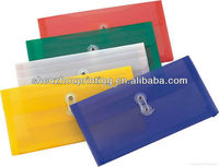 file folder / Clear plastic document pouch