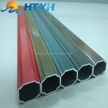 2016 lowest price decorative aluminum square bar for window glass