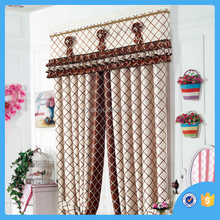 Polyester window curtain , stripe pattern india window curtain cortina