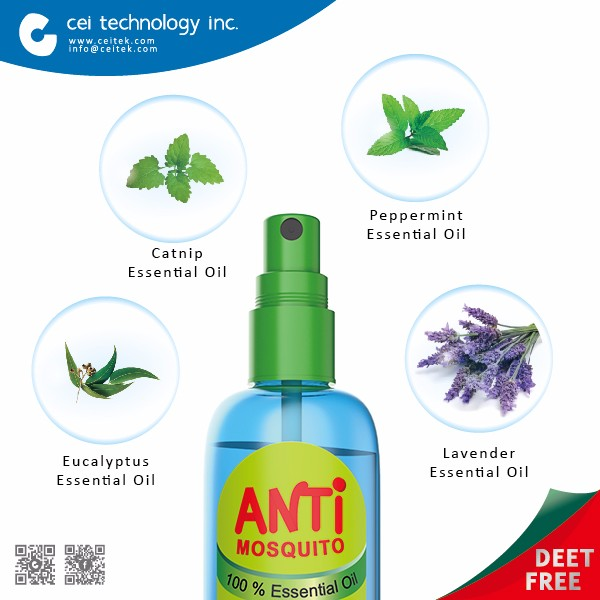 Camping Care Mosquito Away Herbal Gentle Skin Protection Natural Mosquito Repellent Spray