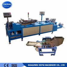 Oblique forming type paper stick making machine