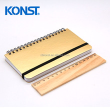 wholesale diary journal customize PU cover Leather Notebook with Elastic band Office and School Supplier